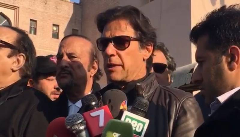 Will join PAT if Qadri takes to the streets, Imran Khan