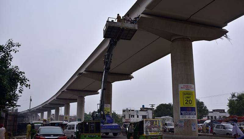 Orange Line Metro Train: 31 conditions set by SC on project