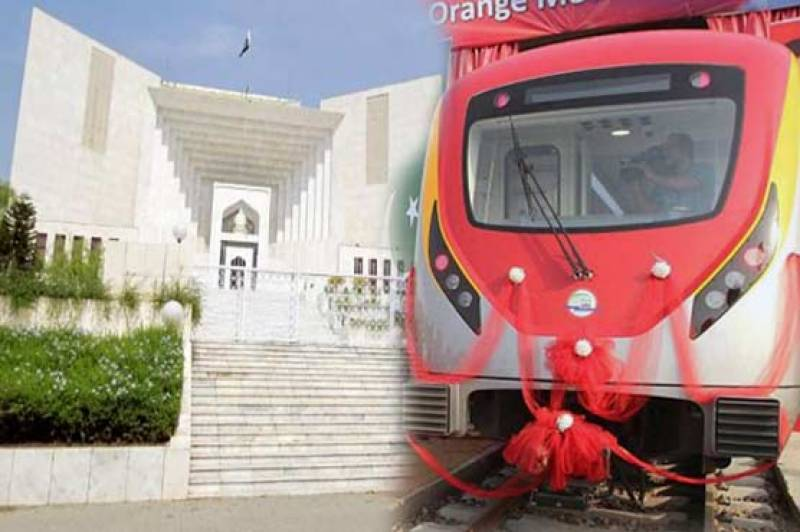 SC allows Orange Line Metro Train construction conditionally