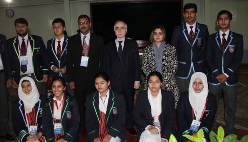 Pakistan sports youth delegation visits Pakistan Embassy, Beijing