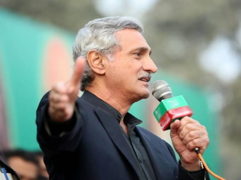 Jahangir Tareen resigns as PTI's secretary general after disqualification