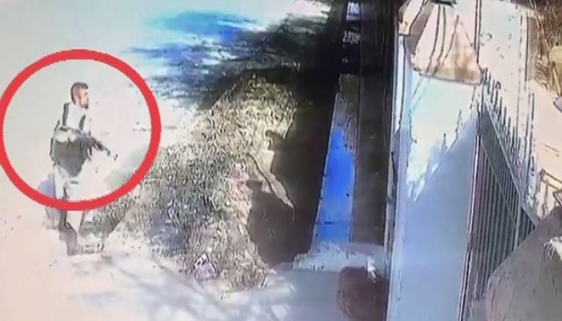 Suicide bombers of Quetta church attack caught on CCTV camera