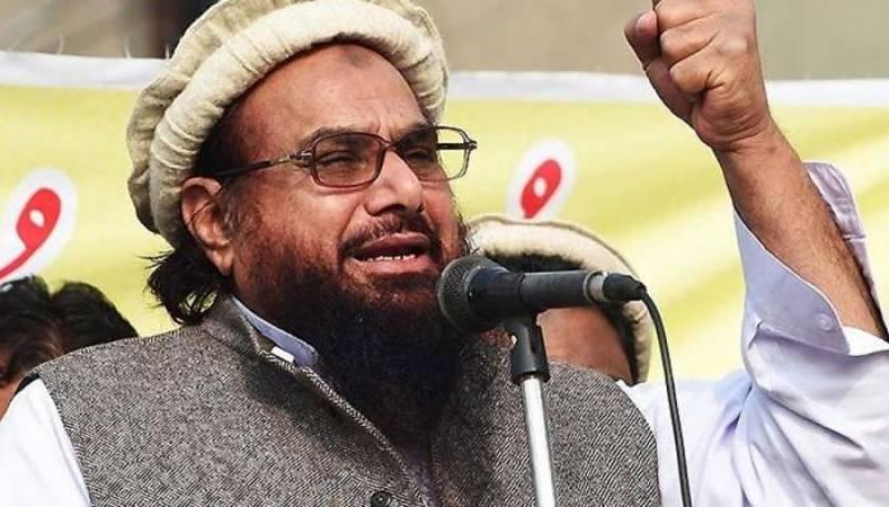US expresses concern over Hafiz Saeed's foray into mainstream politics