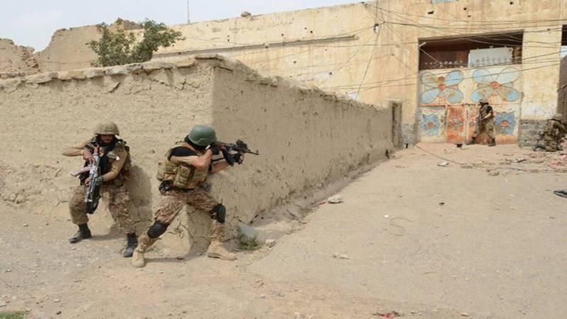 Four terrorists killed in Balochistan sanitisation operations: ISPR
