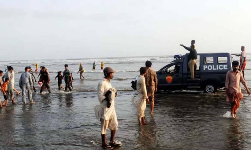 Sindh govt bans swimming at Karachi beaches