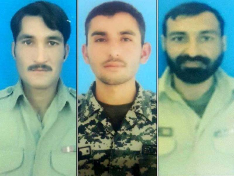 Three FC men martyred as terrorists open fire on Mohmand Agency border post