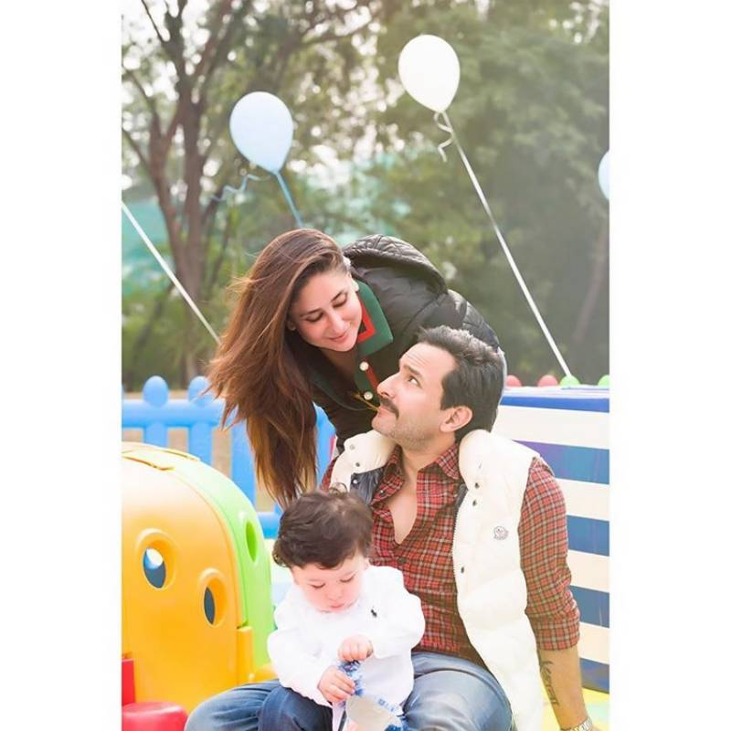 Taimur, Kareena Kapoor & Saif Ali Khan's Vacation pictures go Viral