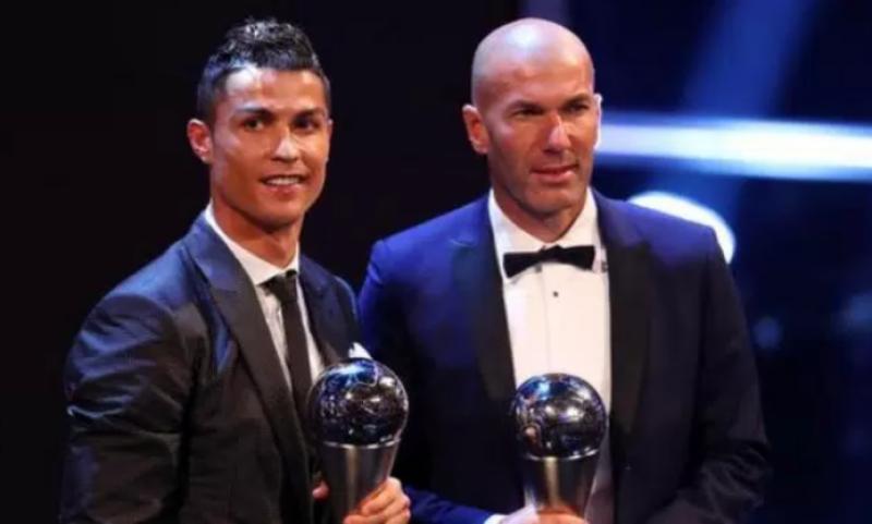 Ronaldo and Zidane win Globe Soccer Awards
