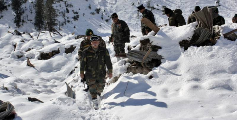 Siachen: 5 army personnel missing after avalanche hits their base