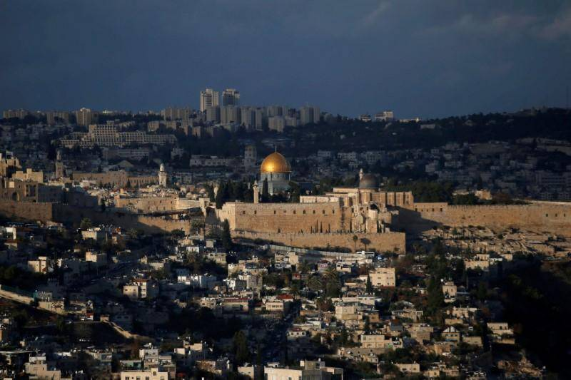 Israel raises threshold to cede parts of Jerusalem in peace deal