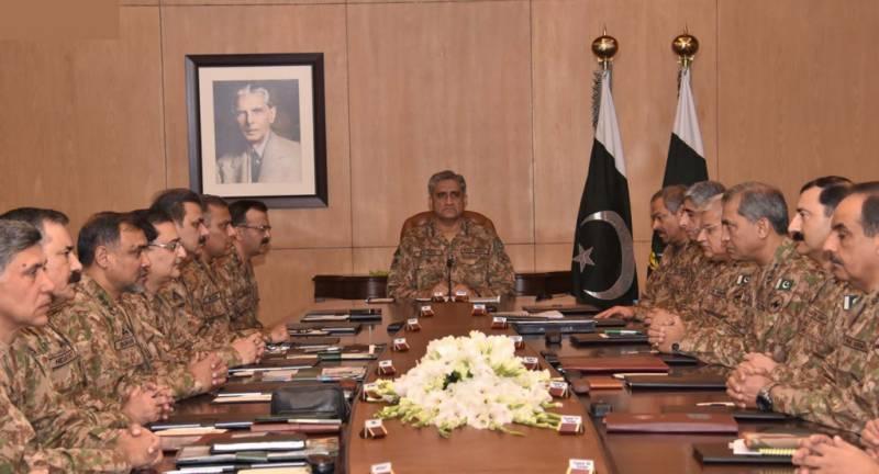 Corps commanders review evolving geo-strategic environment