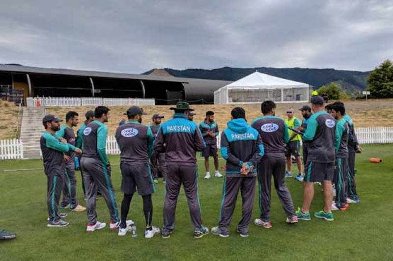 Pakistan announce squad for practice match against NZ XI