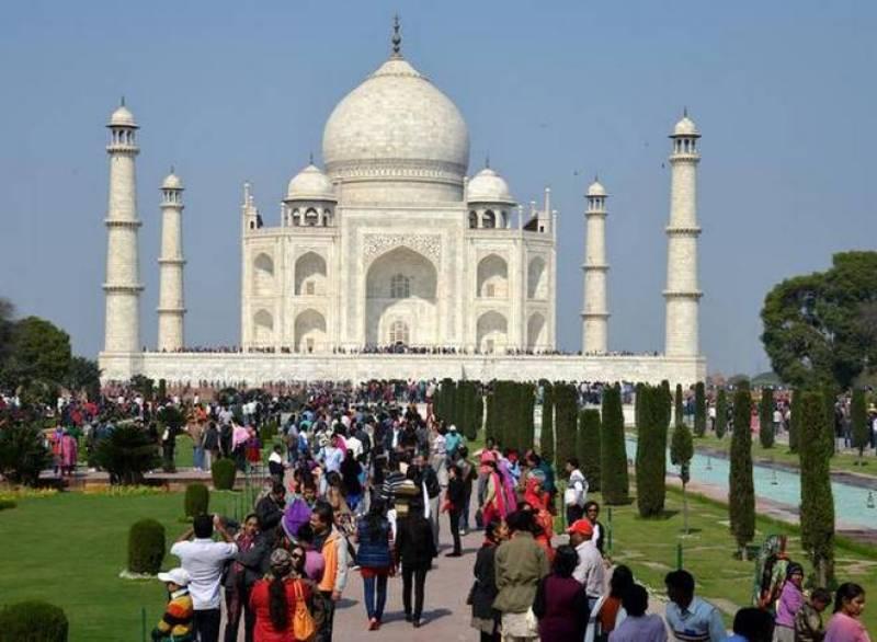 India limits visitors to Taj Mahal