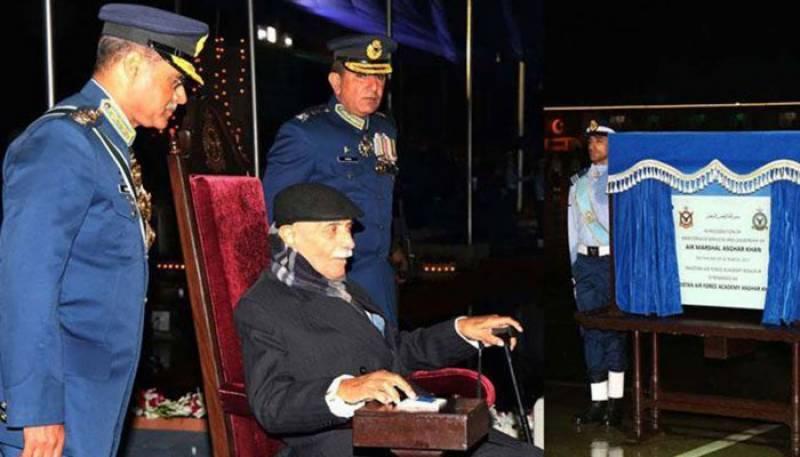 Former air chief of PAF Asghar Khan passes away