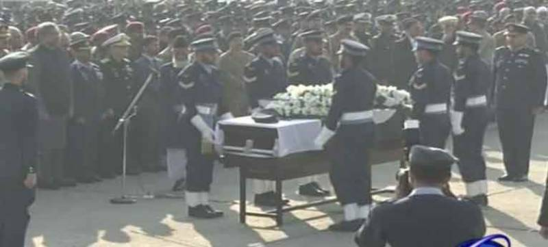 Air Marshal (r) Asghar Khan's state funeral offered