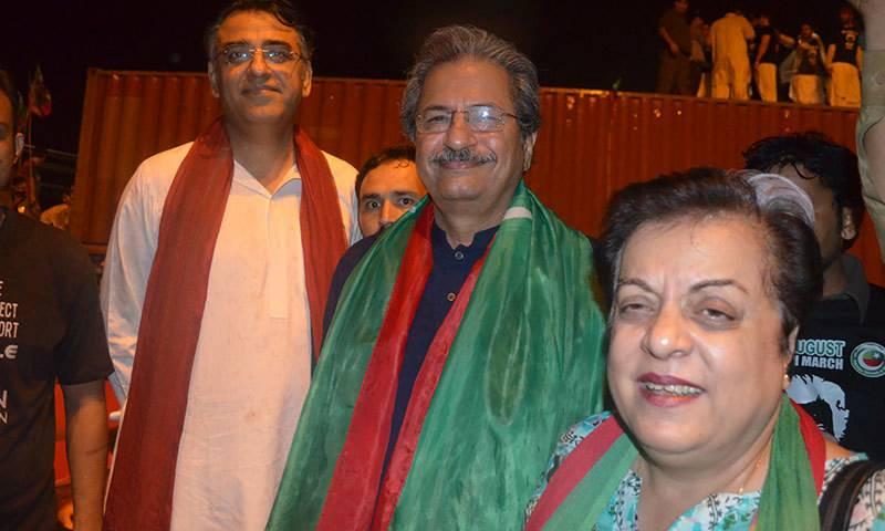 2014 sit-in violence cases: PTI's Shireen Mazari, Arif Alvi and Asad Umar get bail