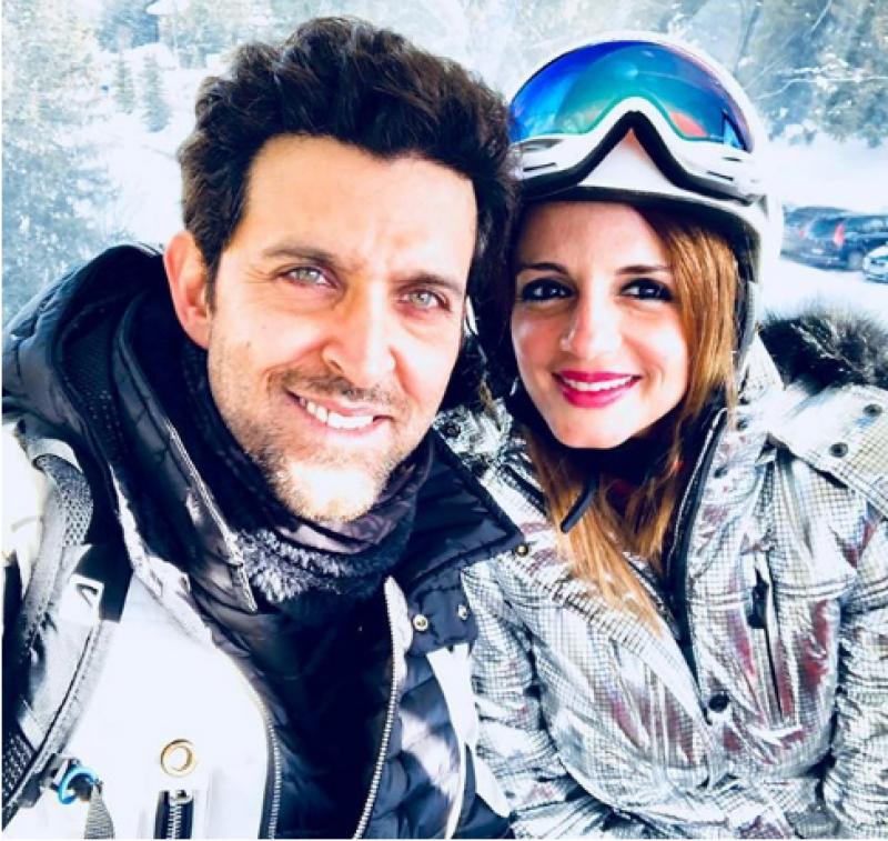 Hrithik Roshanc, ex-wife come closer again
