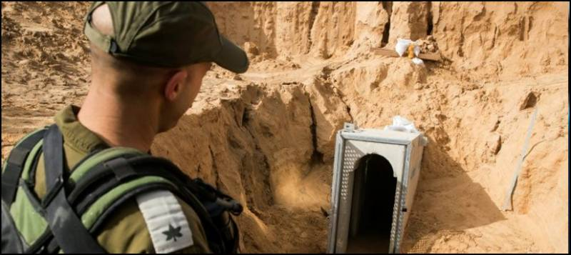 Israel reveals details of new underground wall along Gaza Strip