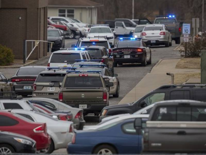 American student opens fire, 2 died, 17 injured