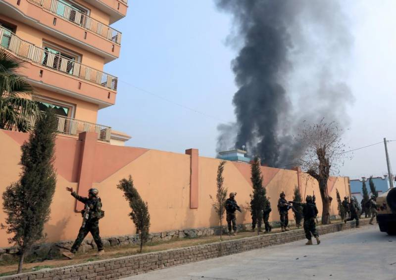 Gunmen storm 'Save the Children' aid group office in Afghanistan