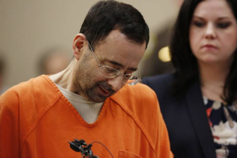 Gymnastics doctor gets 175 years in jail for abusing more than 150 girls