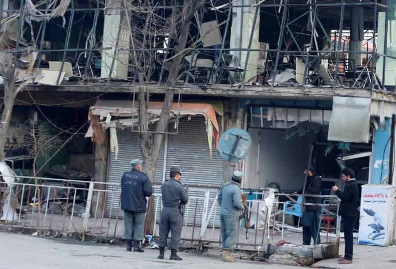 Afghan capital in shock after ambulance bomb kills 95