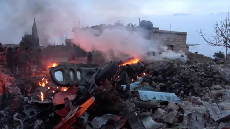 Syrian rebels down Russian plane, kill pilot