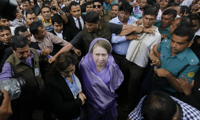 Bangladesh court jails former PM Khaleda Zia for 5-year over corruption charges