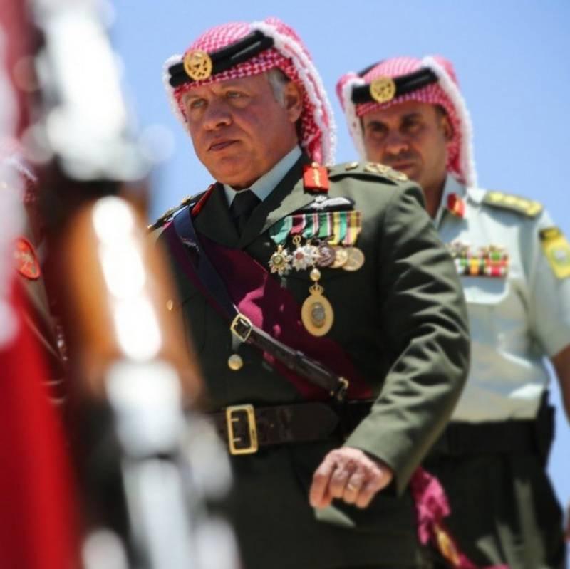 King of Jordan Abdullah II reaches Pakistan