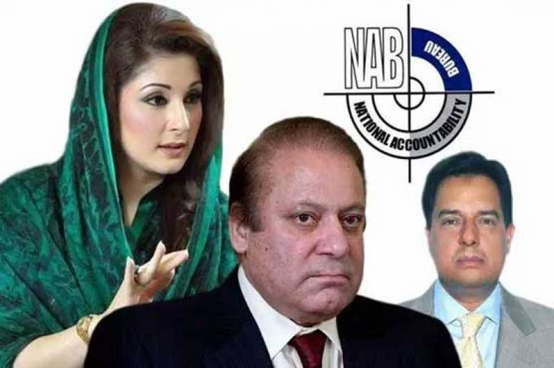 NAB writes ministry to put Nawaz, Maryam and Safdar names on ECL