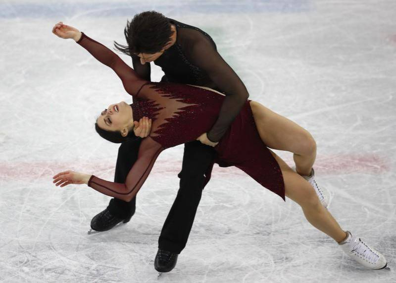 Virtue, Moir win second ice dance gold with world record