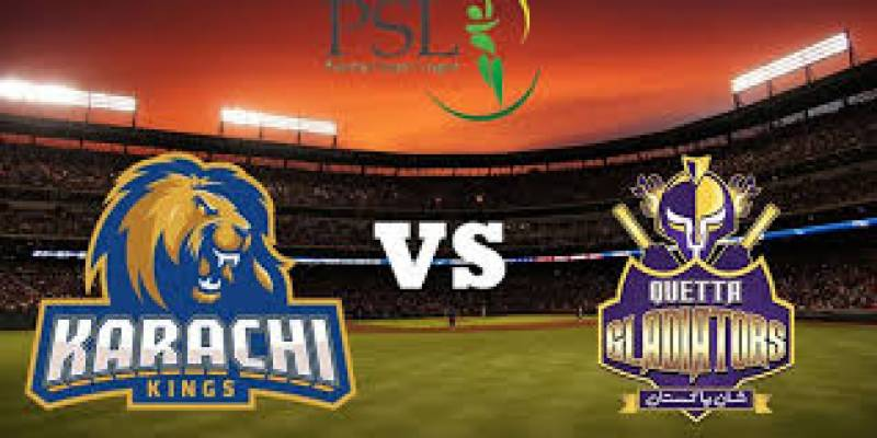 PSL 3: Karachi Kings beat Quetta Gladiators by 19 runs