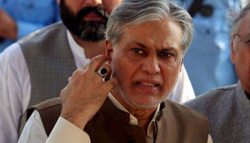 NAB files supplementary reference against Ishaq Dar