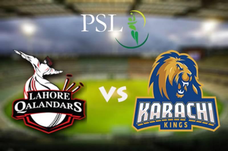PSL-3: Karachi Kings beat Lahore Qalandars by 27 runs