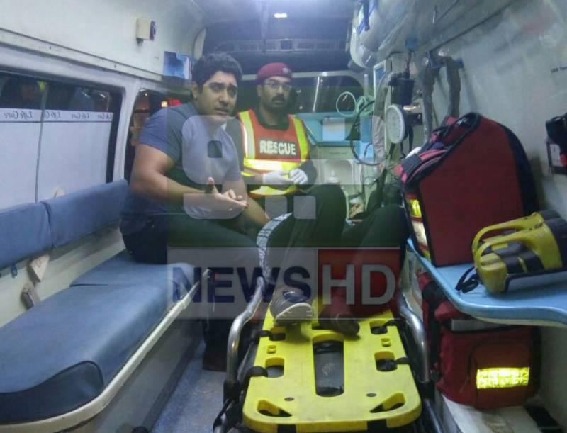 6 injured as aircraft ladder slips at Benazir International Airport