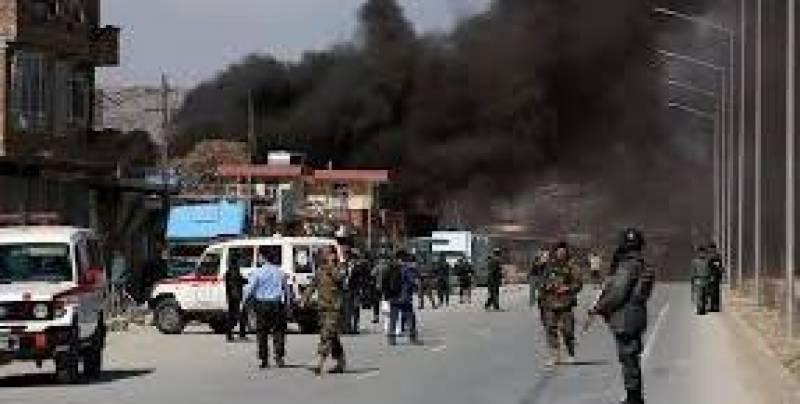 7 killed, dozens injured in Kabul suicide blast