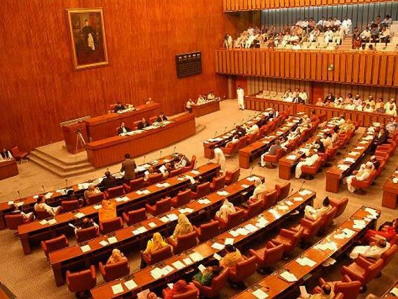 Newly-elected senators take oath