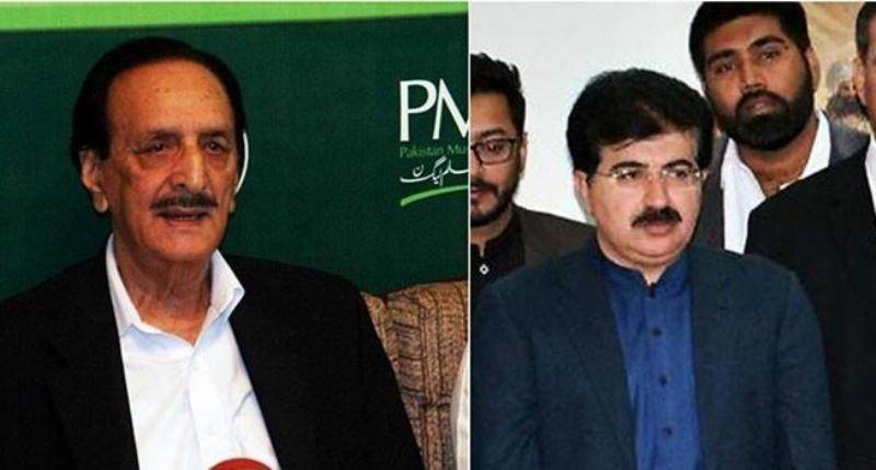 Senate chairman, voting underway: Tough competition between PML-N's Raja Zafarul Haq and PPP, PTI's Sanjrani