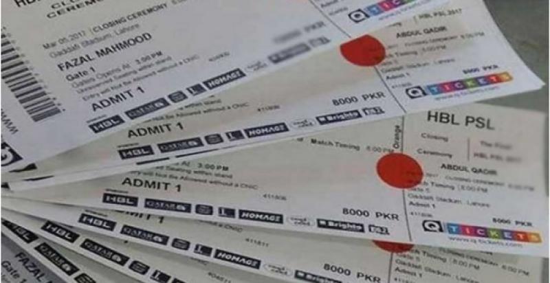 Sale of PSL final tickets to start tonight