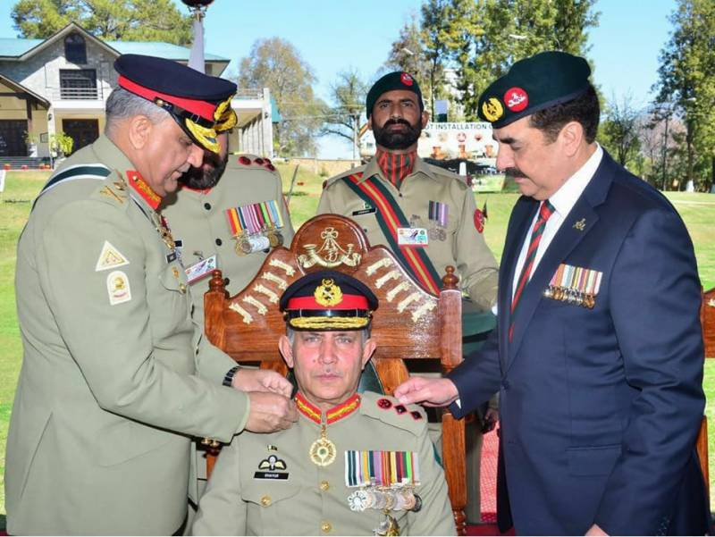 Lt. Gen. Ghayur Mahmood appointed as Colonel of Frontier Force Regiment