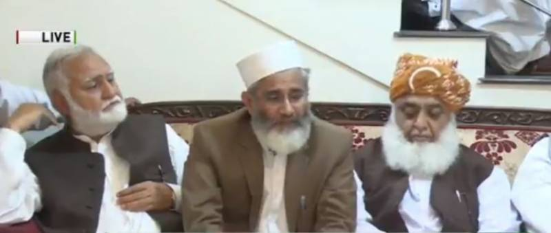 Maulana Fazl ur Rehman appointed MMA chief