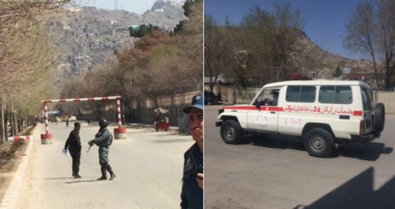 26 killed, 18 hurt in explosion near Kabul University