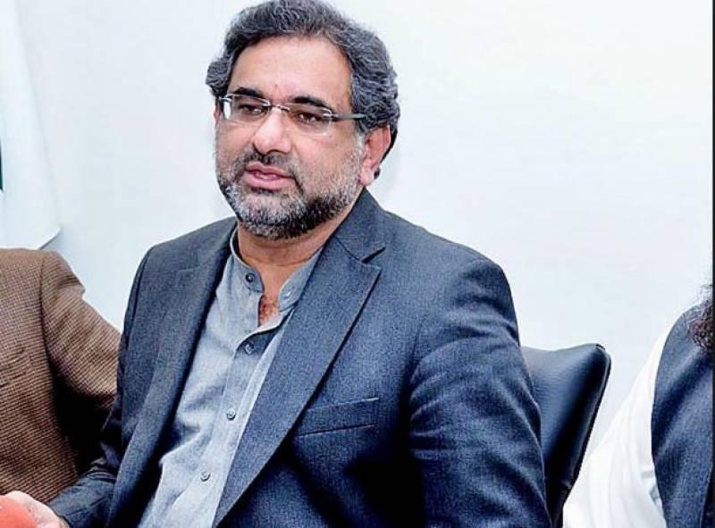 Nawaz Sharif can formulate party policy from jail: Khaqan Abbasi