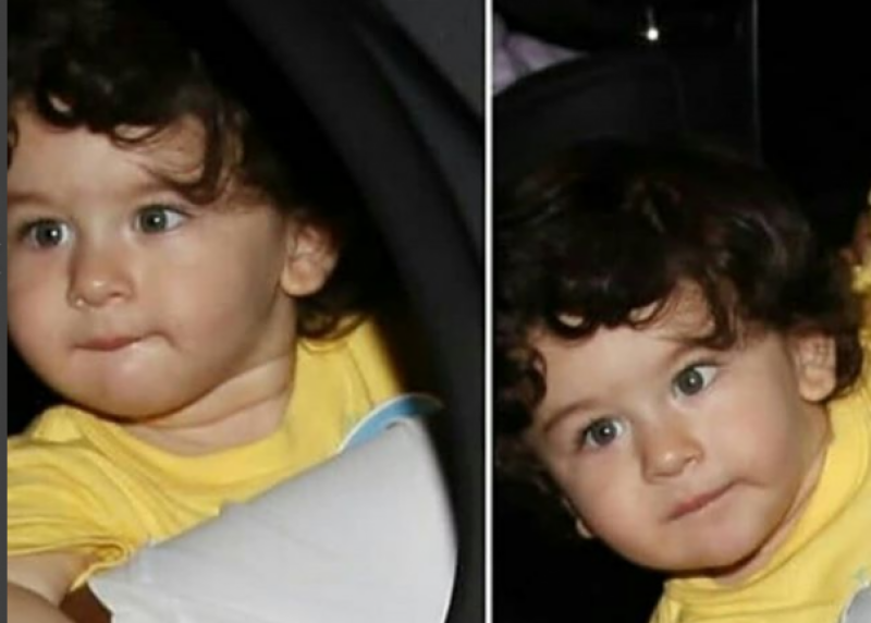 New pictures of adorable B-town baby Taimur with mommy Kareena