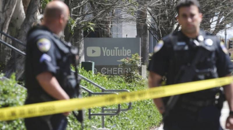 Female shooter commits suicide after injuring three at YouTube HQ