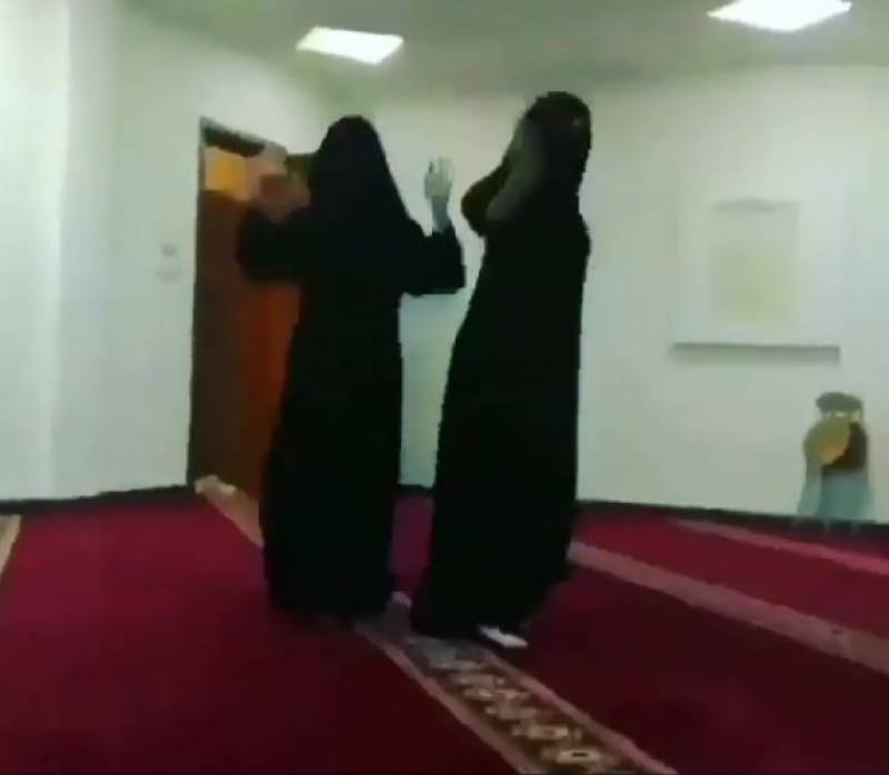 Women detained for dancing in mosque, video goes viral