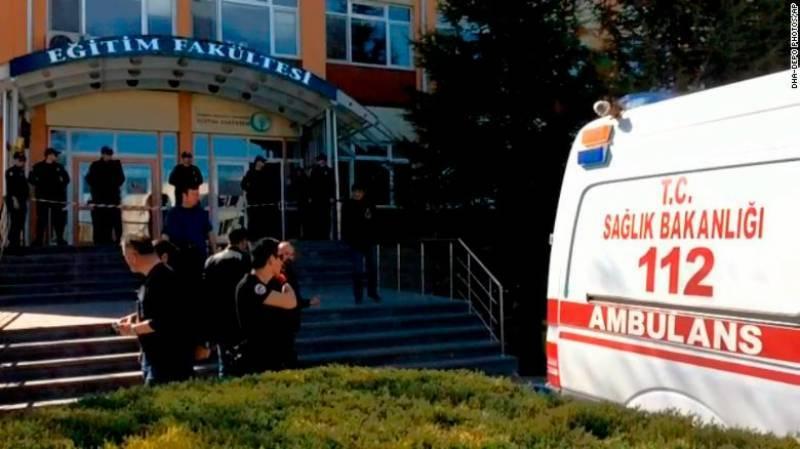 4 killed, 3 injured in Turkey university shooting