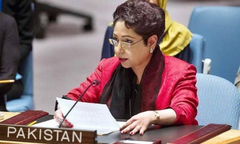 Maleeha Lodhi reminds UN its responsibilities to address Kashmir issue