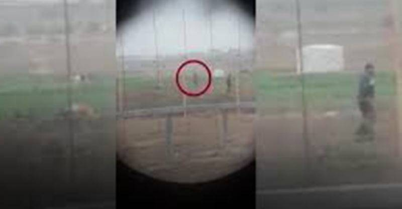 Video emerges to show Israeli sniper shoots Palestinian