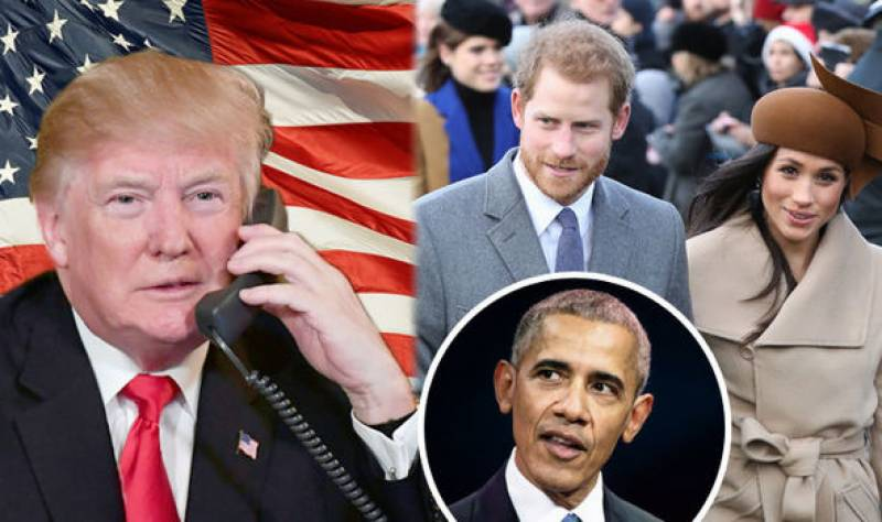 Barak Obamas, Donald Trumps not invited to the Royal wedding